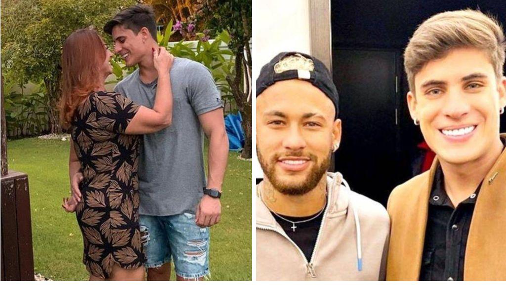 """La madre de Neymar vuelve con su exnovio tiktoker de 22 años y planea casarse: """"Donde tú no precisas saber"""""""