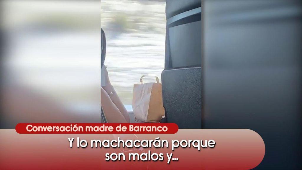 """La 'rajada' de la madre de Barranco: """"Son todos gentuza"""""""