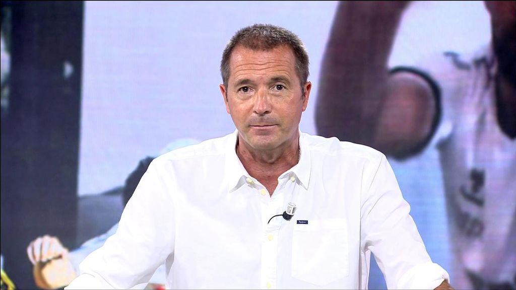 Manu Carreño, en un momento del programa.