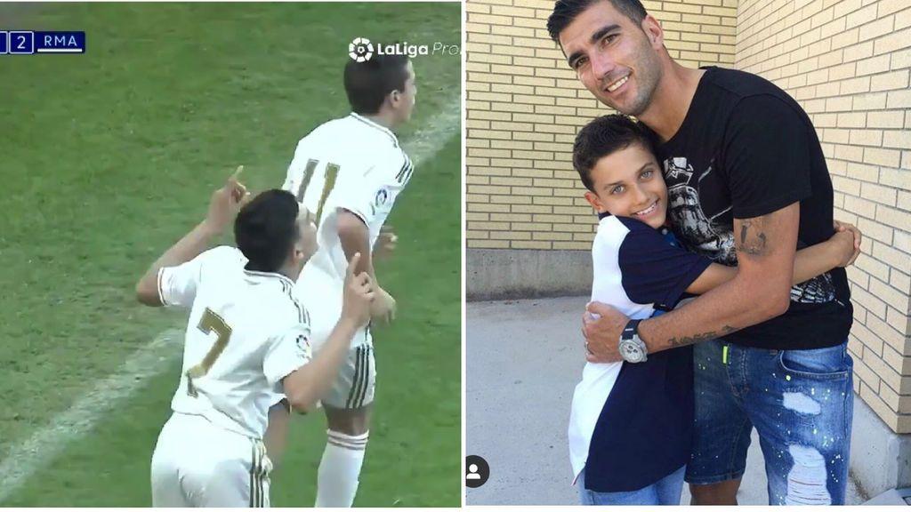 Los recuerdos del hijo de Reyes: de su debut con el Madrid, a la dedicatoria en sus goles