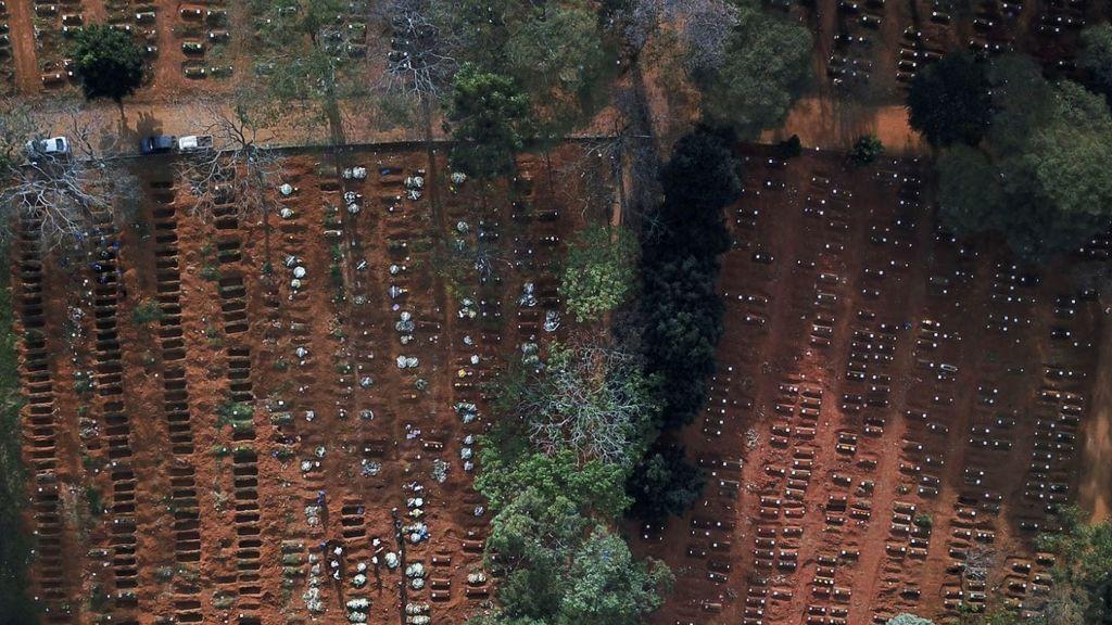 Imagen del cementerio Vila Formosa
