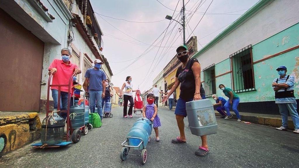 Venezuela, sin agua durante la cuarentena