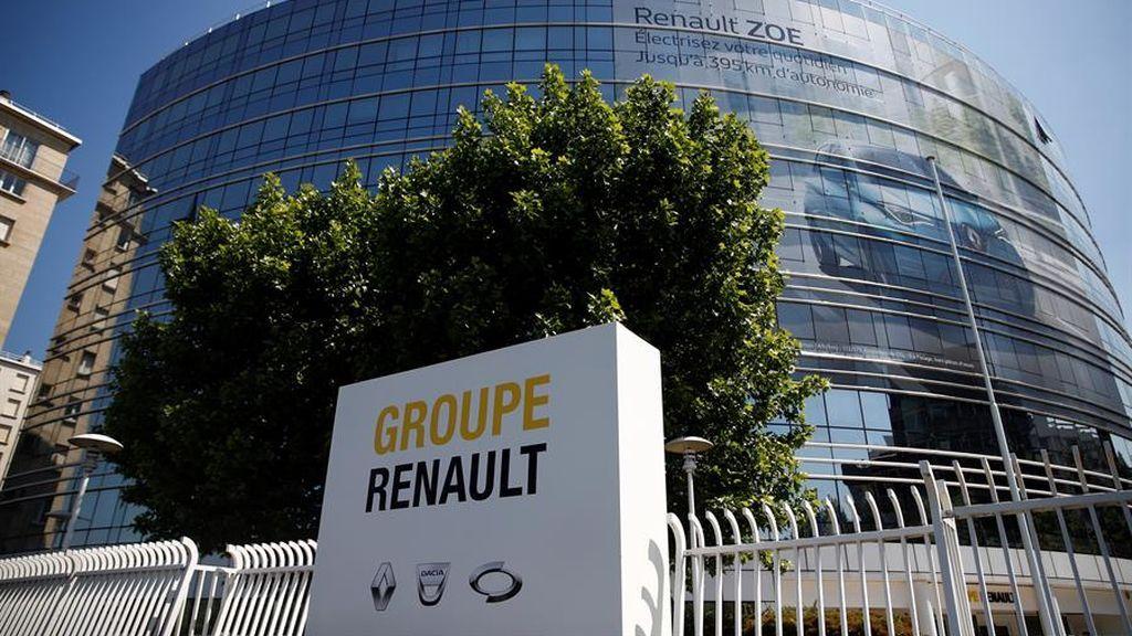 Renault suprime 15.000 empleos para reducir costes, sin despidos