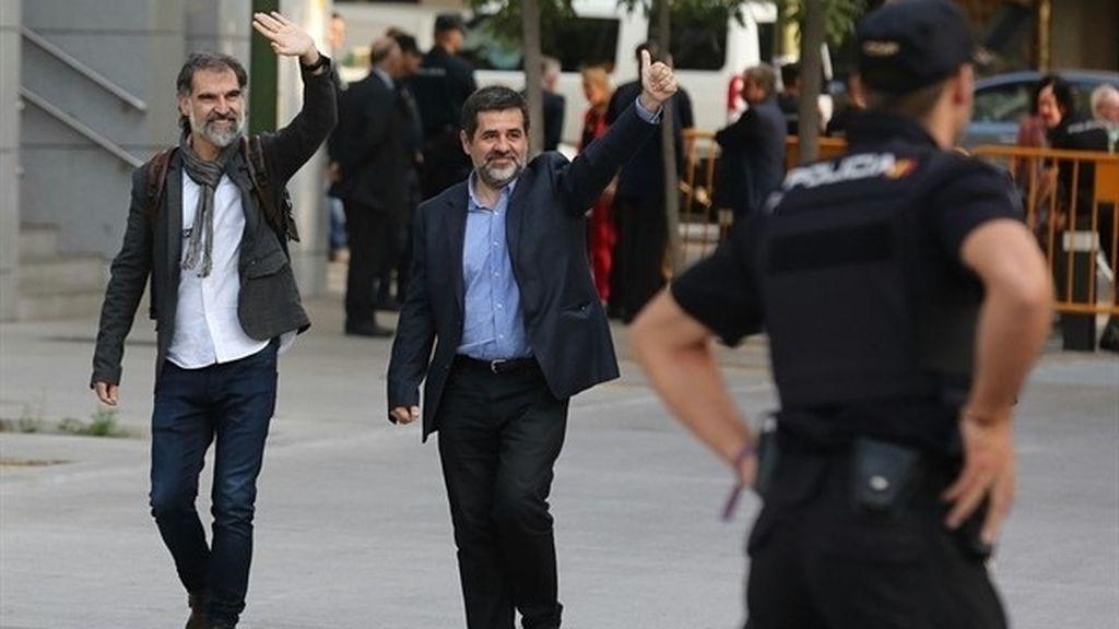"""Unidas Podemos, nacionalistas e independentistas reclaman la libertad inmediata de los """"Jordis"""""""