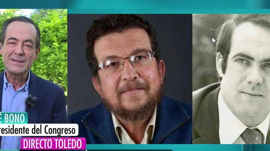 José Bono aclara su relación con el padre de Pablo Iglesias