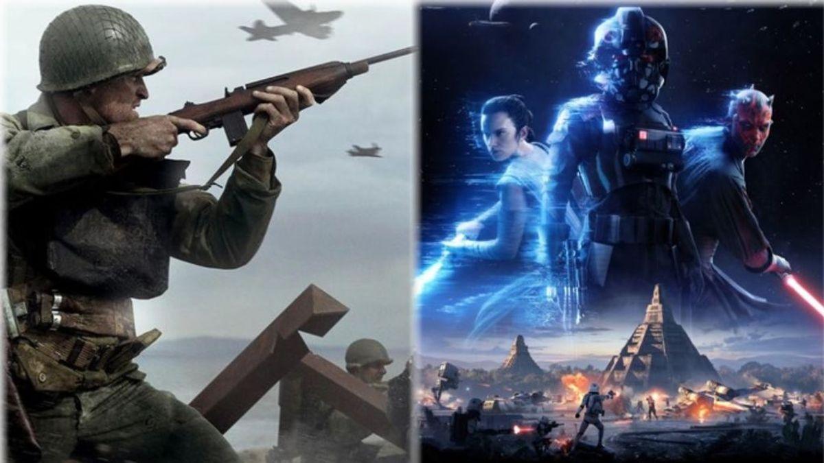 CoD WWII y Star Wars Battlefront 2