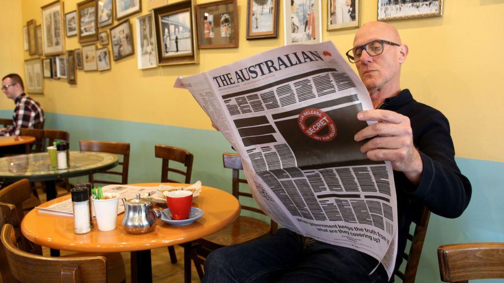 Compartir el periódico en un bar es seguro