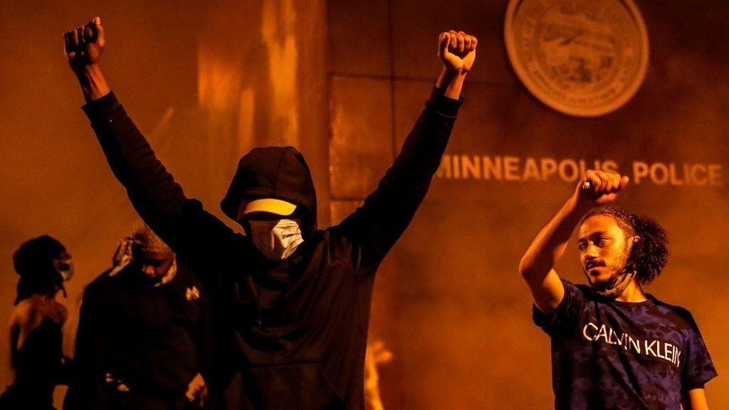 Protestas raciales en Estados Unidos