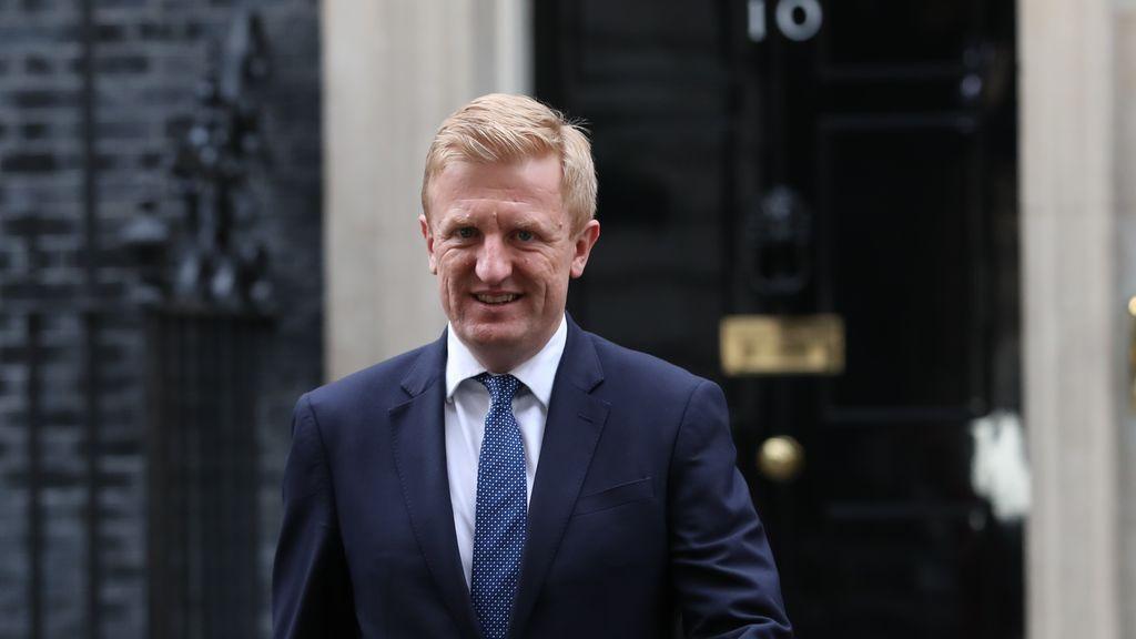 El ministro de Cultura, Medios y Deportes del Reino Unido, Oliver Dowden