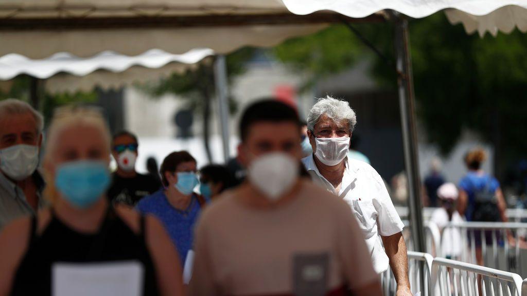 Última hora del coronavirus: Sanidad suma 4 fallecidos por cornavirus desde ayer y 43 en la última semana