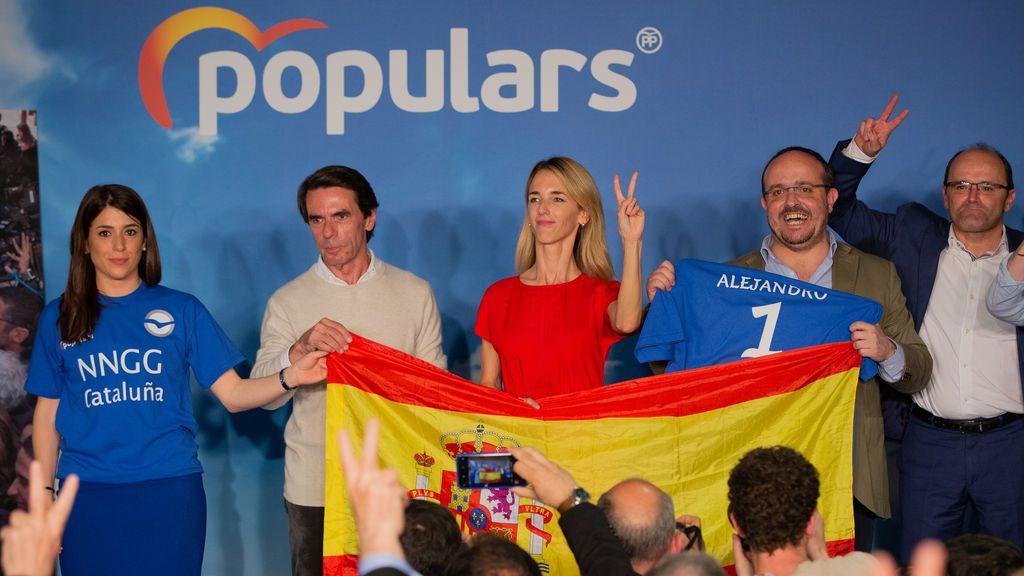 Aznar sale en defensa de Cayetana Álvarez de Toledo