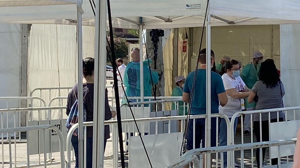 Torrejón de Ardoz se suma a los test masivos: realiza pruebas de coronavirus a todos sus vecinos, en imágenes