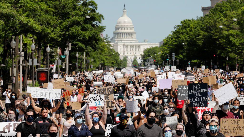 Cientos de detenidos en las manifestaciones de EEUU por la muerte de George Floyd