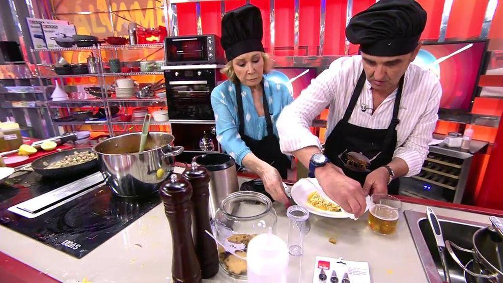 El menú de Mila Ximénez y Antonio Montero