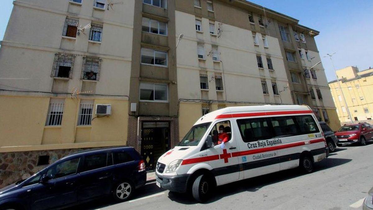 Ceuta estudia precintar varios bloques de viviendas, focos del último brote de contagios