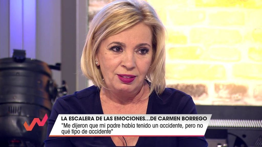 Carmen habla de la muerte de su padre