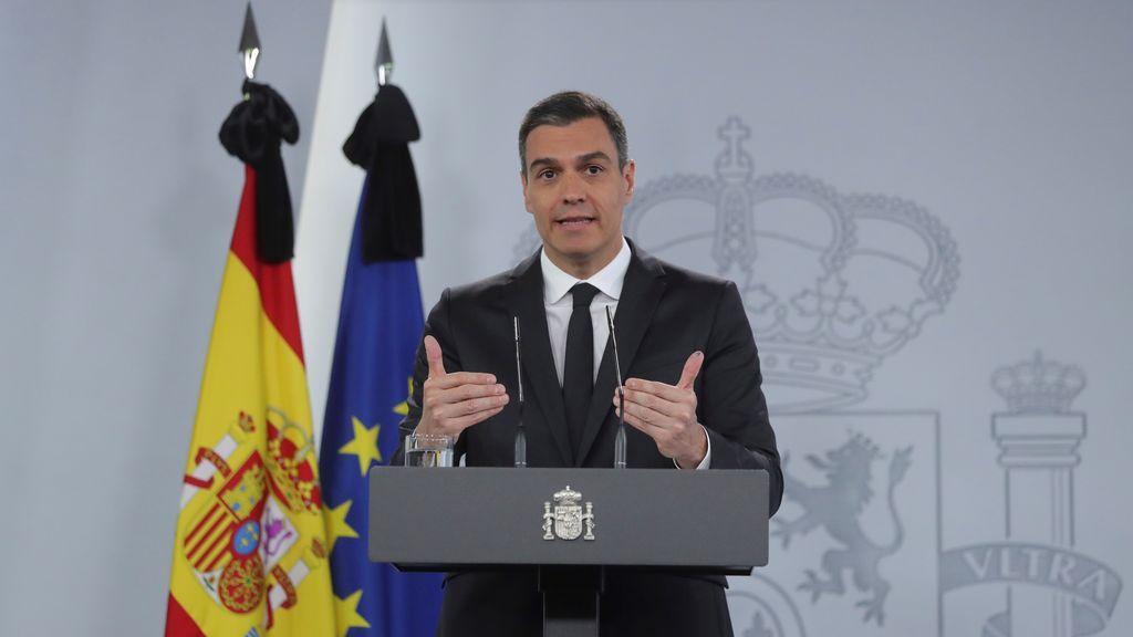 Sánchez anuncia el último estado de alarma