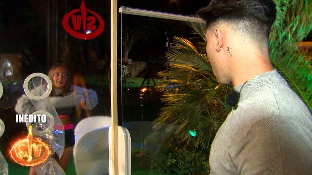 """Lo que no se vio del reencuentro de Rocío con su novio: """"No te conozco ya"""""""