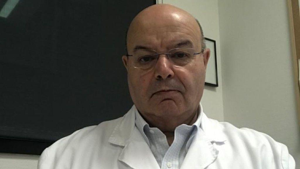 Benito Regueiro es el jefe del servicio de Microbiología del Complejo Hospitalario Universitario de Vigo
