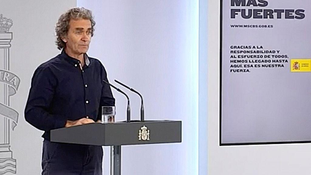 """Simón critica los macrobotellones y dice que esto no es un """"sálvese quien pueda"""""""