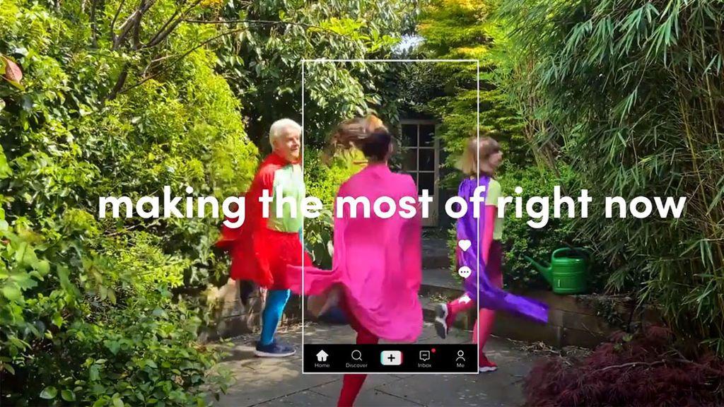 Anuncio de TikTok en TV británica