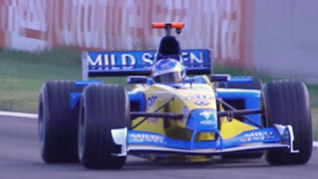 Fernando Alonso, durante su etapa en Renault.