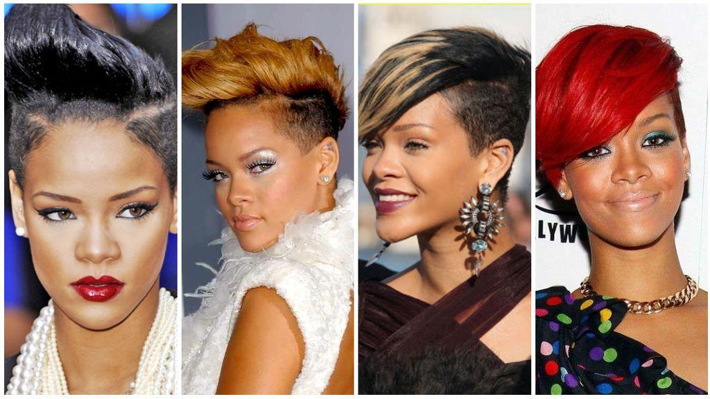 La cantante y sus innumerables cambios de look en el 2009.
