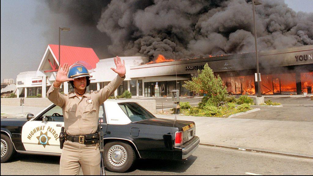 Disturbios de Los Ángeles en 1992