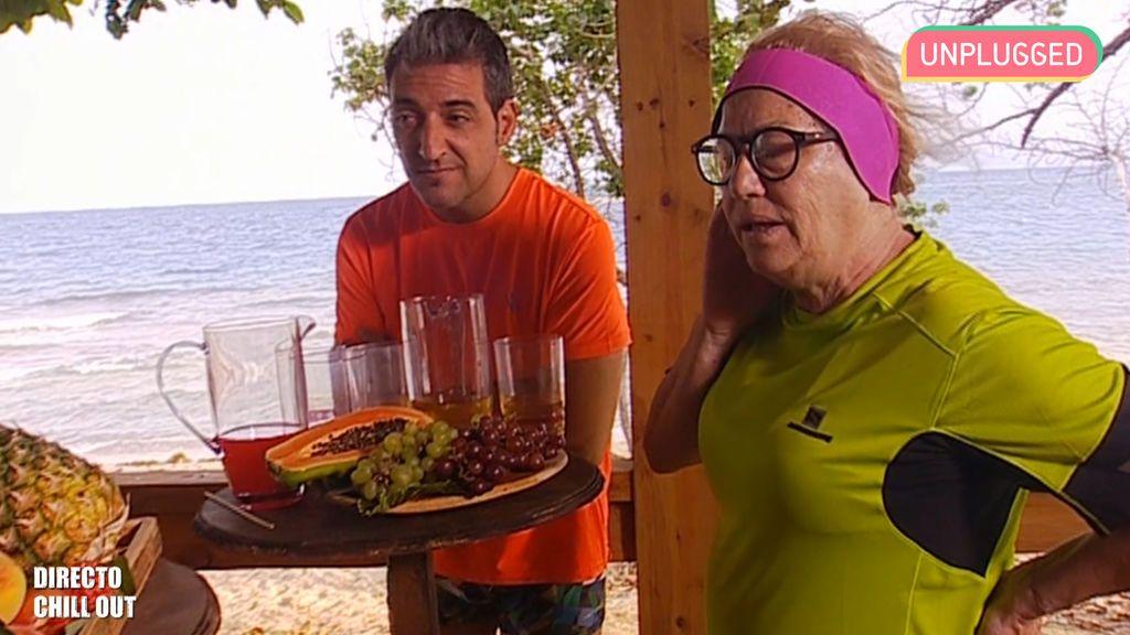Mayte Zaldívar y Fernando Marcos
