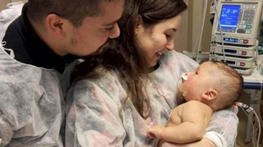 Un bebé de cinco meses supera el coronavirus tras 32 días en coma