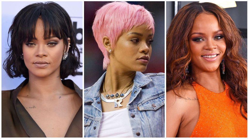 Rihanna y sus últimos cambios de look.