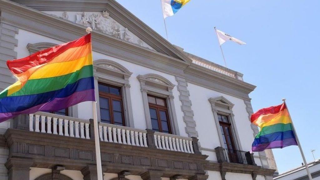 El Supremo declara ilegal el uso de banderas no oficiales por parte de las instituciones, aunque sea de forma ocasional