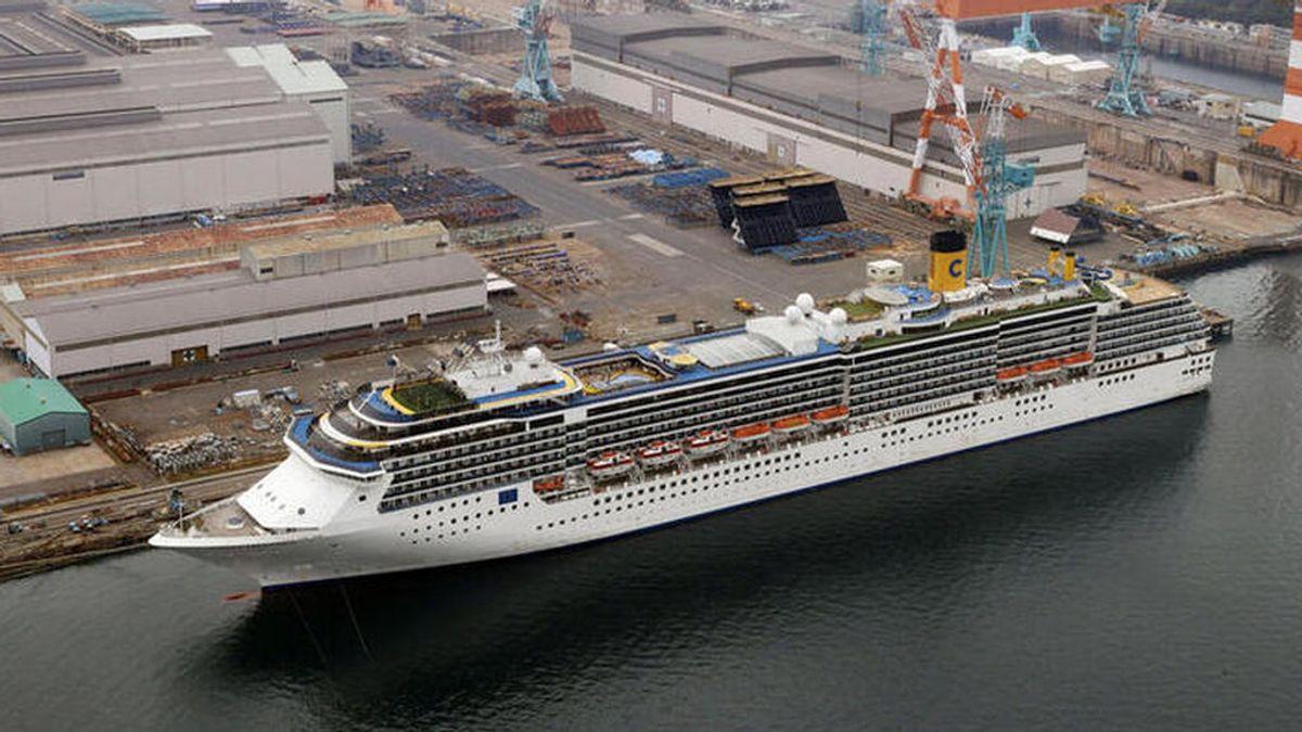 El crucero italiano 'Costa Atlantica' abandona Japón tras un mes de cuarentena por un brote de coronavirus