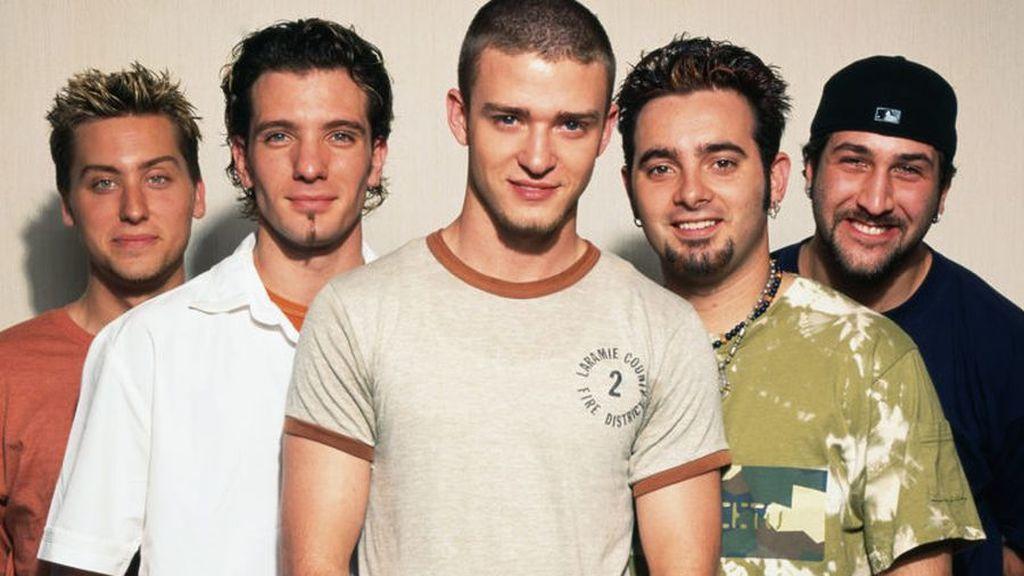 N'Sync, el grupo con el que triunfó Justin Timberlake.