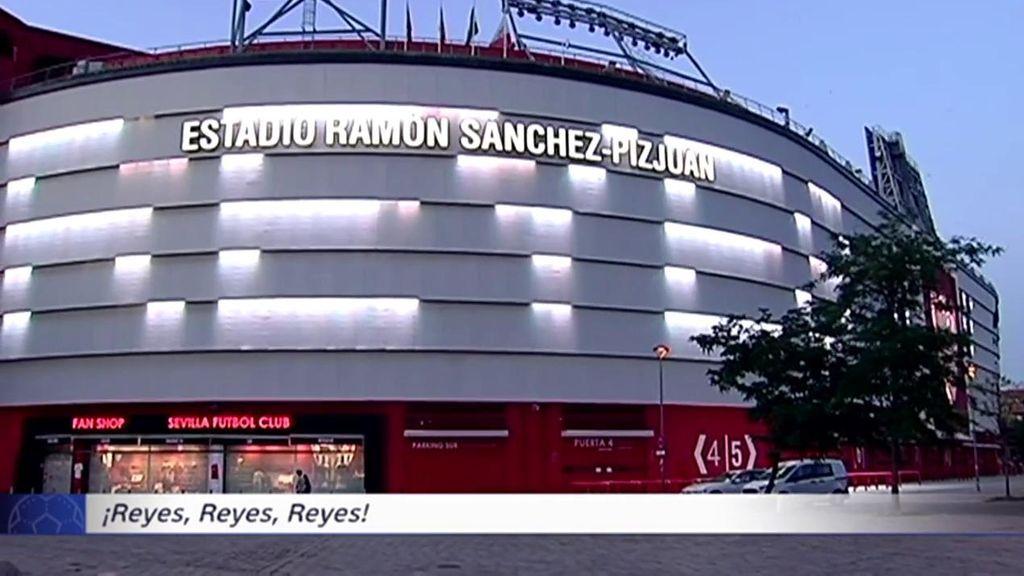 El Sánchez Pizjuán, con la palabra Reyes.