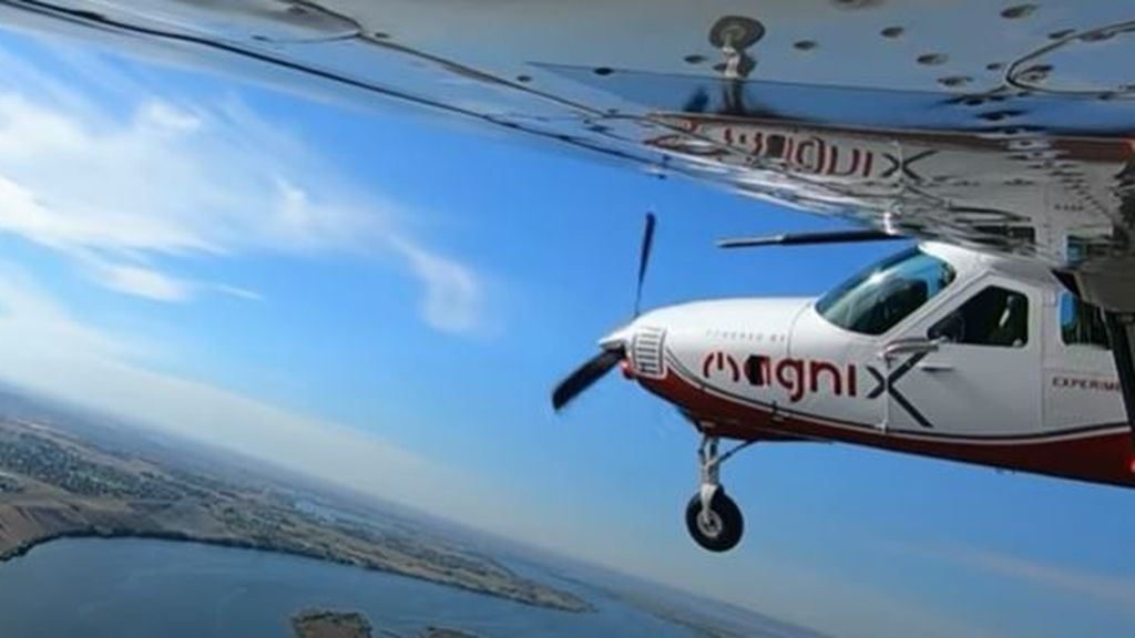 Cuesta 6 euros en combustible y abarca 13 pasajeros: en marcha el avión eléctrico más grande del mundo