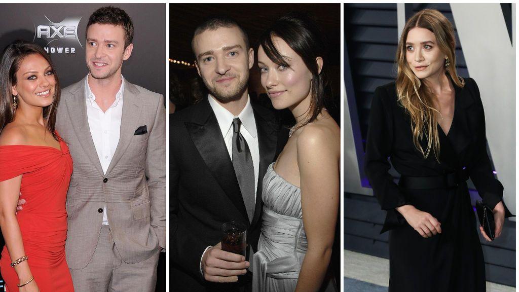También se relacionó a Justin con Mila Kunis, Olivia Wilde y Ashley Olsen.