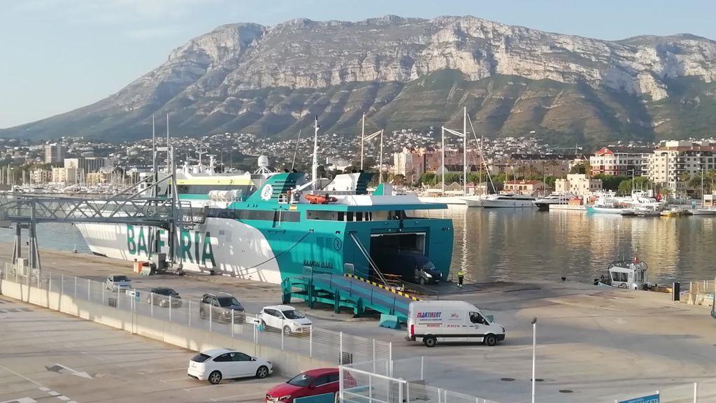 Ferry puerto Denia
