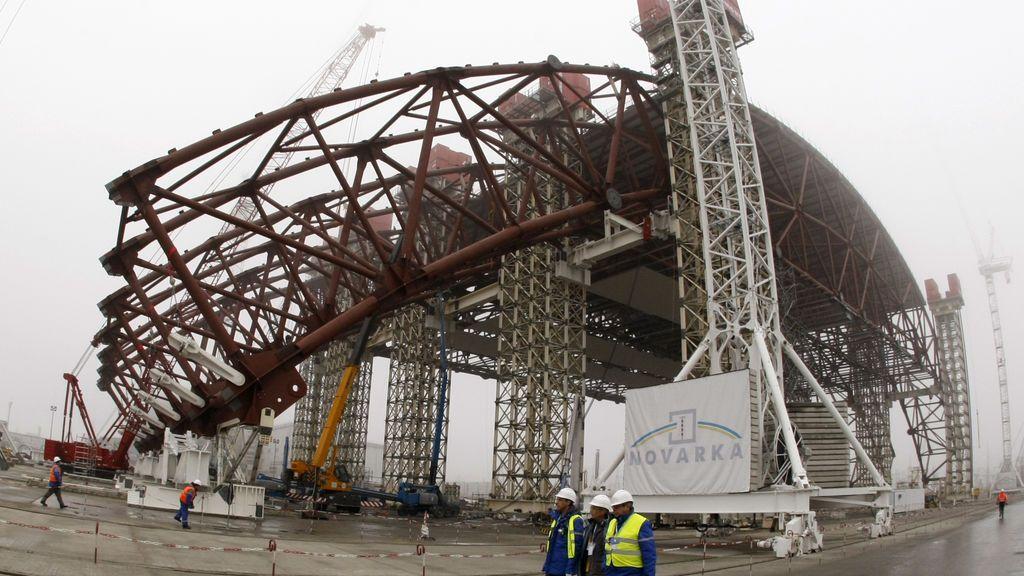 Reactor nuclear en Chernóbil