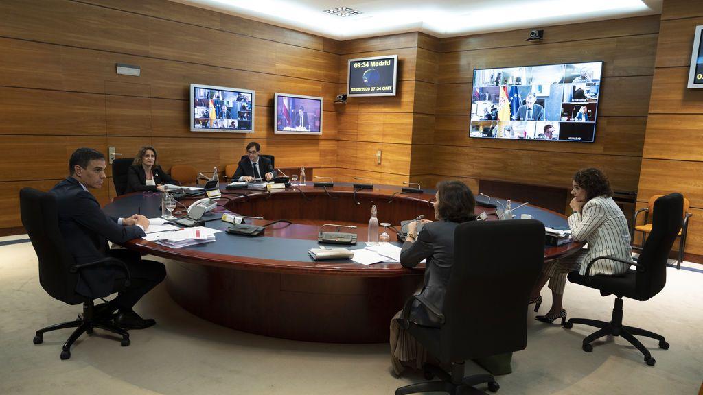 Imagen del Consejo de Ministros del 2 de junio
