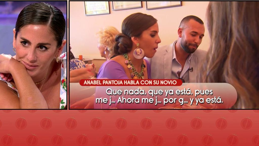 """La monumental pillada a Anabel hablando con su novio en publicidad: """"No cojas el teléfono"""""""