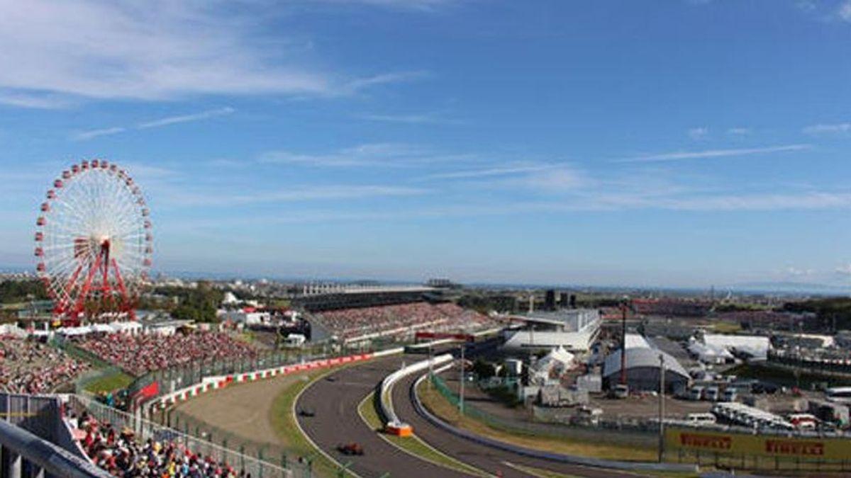 Vistas del circuito de Suzuka
