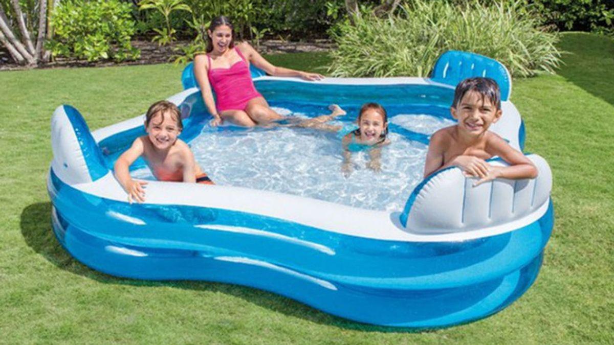 Hacer una correcta desinfección y extremar las precauciones para evitar infecciones en piscinas hinchables