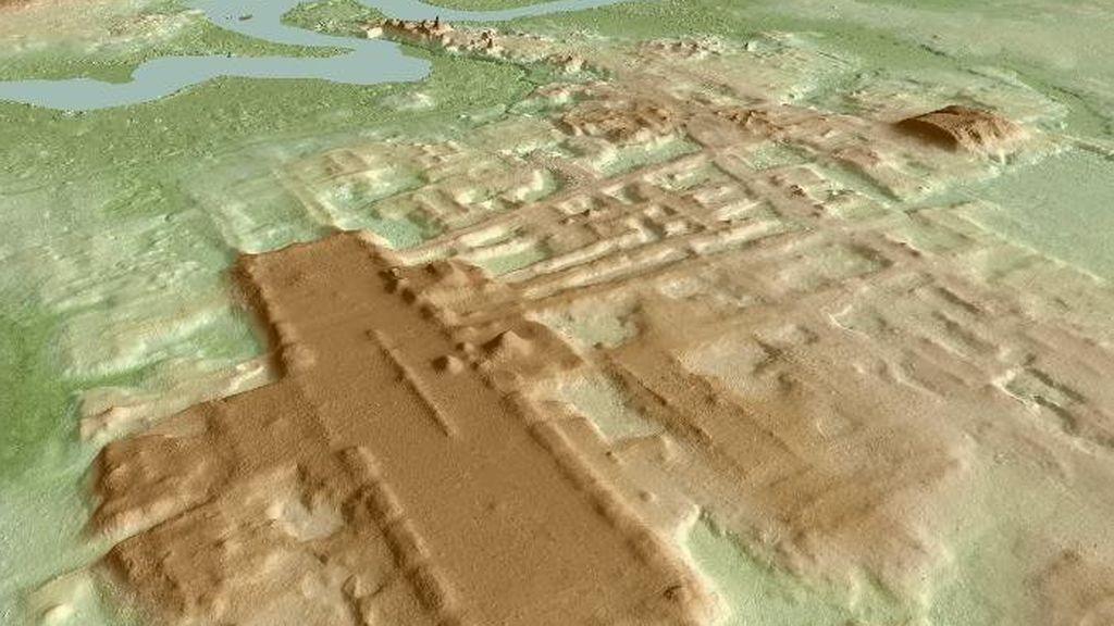 Descubren el mayor y más antiguo monumento maya
