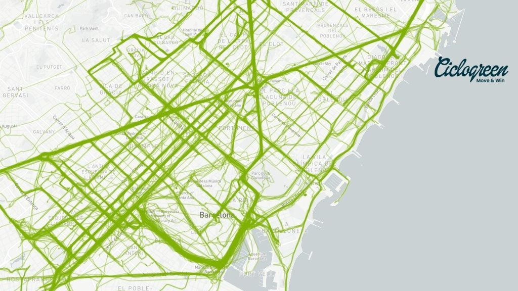 Mapas de calor para que las ciudades diseñen la  movilidad durante la desescalada