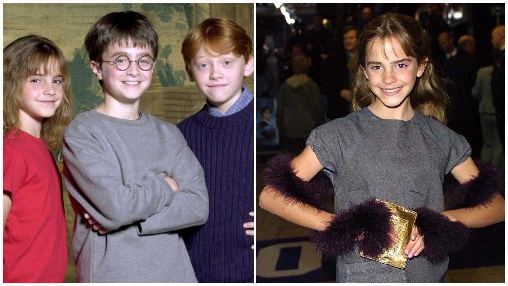 Emma Watson, en 'Harry Potter y la piedra filosofal'.