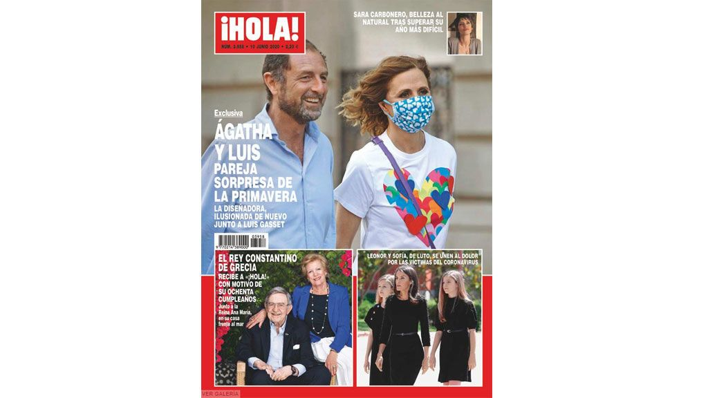 Ágatha Ruiz de la Prada y Luis Gasset, nueva pareja