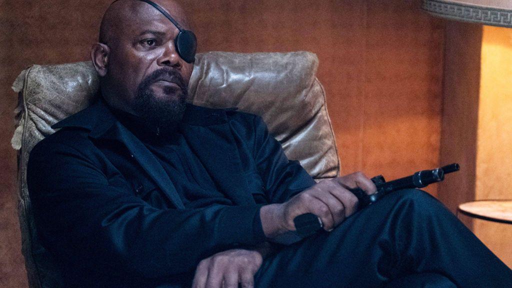 Samuel L. Jackson en 'Spiderman: lejos de casa'