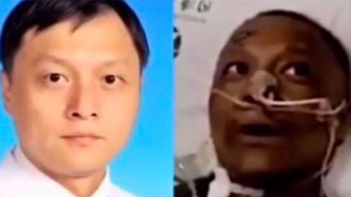 Fallece uno de los médicos chinos que se volvió negro por el coronavirus
