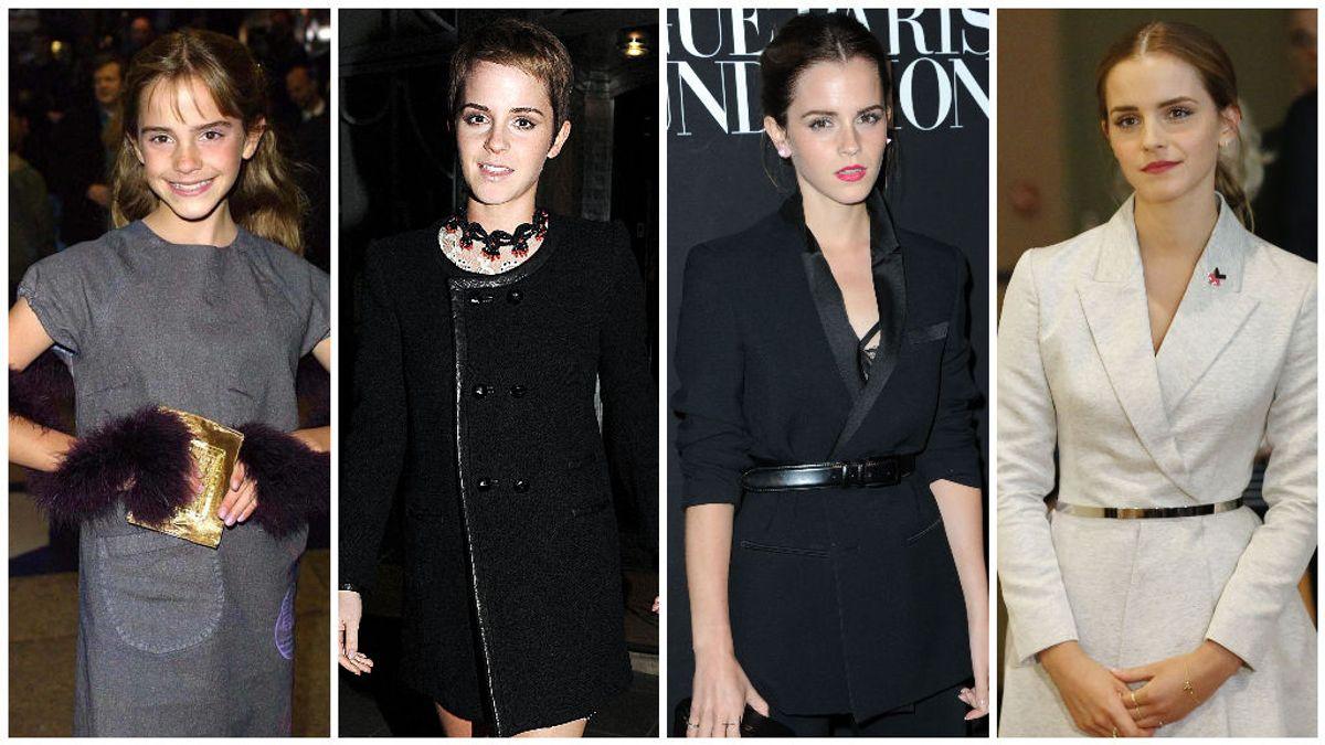 Así ha cambiado Emma Watson en estos últimos 20 años.